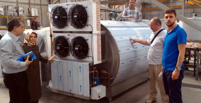Süt üreticilerine soğutma tankı