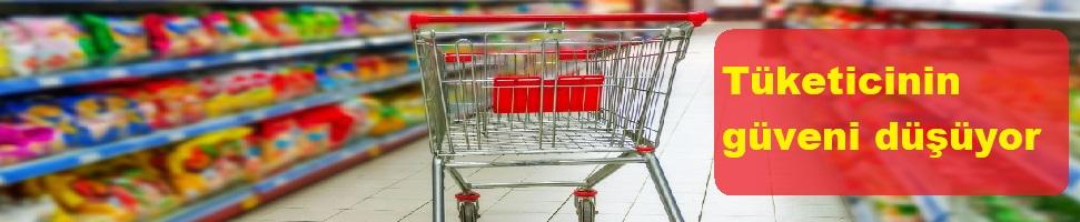 Tüketicinin güveni düşüyor