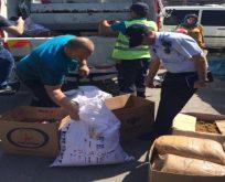Darıca'da Kaçak Tütün Operasyonu