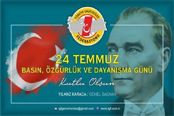 """""""Basın Özgürlük ve Dayanışma Günü olarak kutlanmalı"""""""