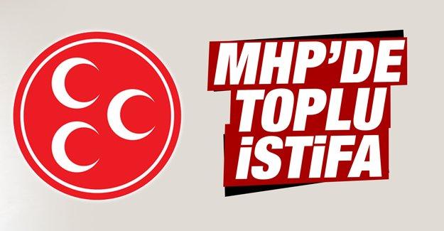Kocaeli'de MHP'den 410 Kişi İstifa Etti