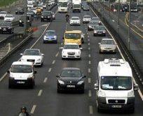 Trafiğe kaydı yapılan taşıt sayısı %39,1 azaldı