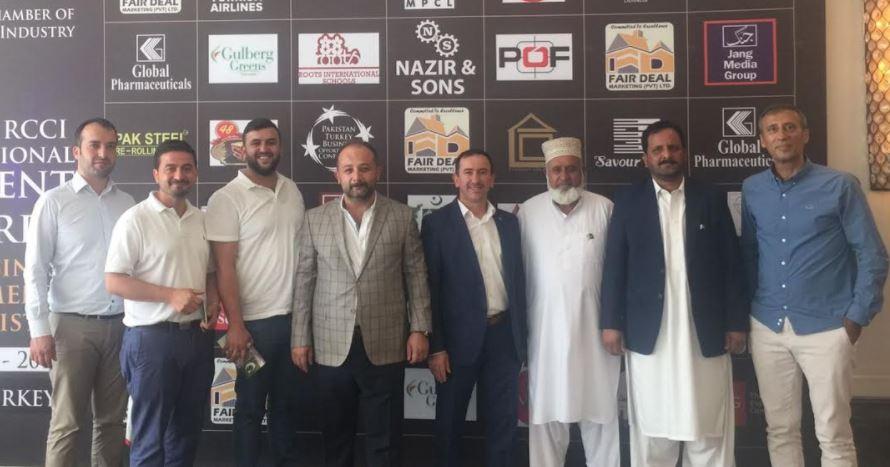 TÜMSİAD Gebze Pakistanlı Firmalarla Görüştü