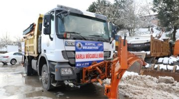 İBB ve Kartal Belediyesinden İzmit'e destek