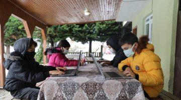 15 köye ücretsiz internet götürüldü