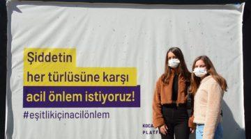 'Kadına Şiddete Hayır'