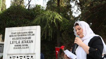 Leyla Atakan ve çalışma arkadaşları anıldı
