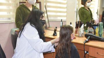 Ücretsiz saç kesim hizmeti başladı