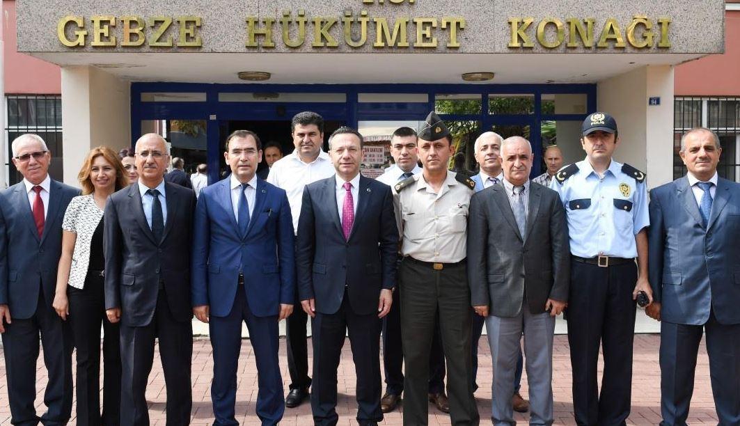 Vali Aksoy'dan Gebze Ziyareti