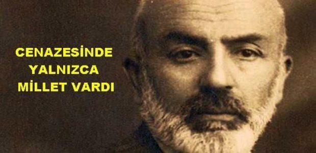 Vefatının 82. yıldönümünde Mehmed Akif Ersoy