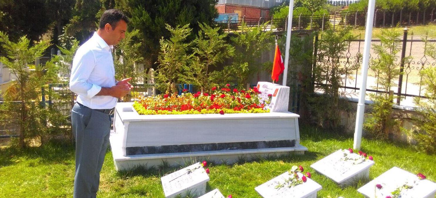 CHP'li Törk 15 Temmuz Şehitlerini Unutmadı