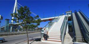 Gebze'ye yaya köprüsü yapılacak
