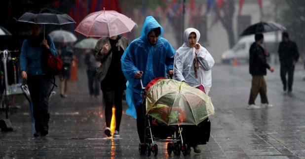 Meteorolojiden Kocaeli İçin Yağış Uyarısı