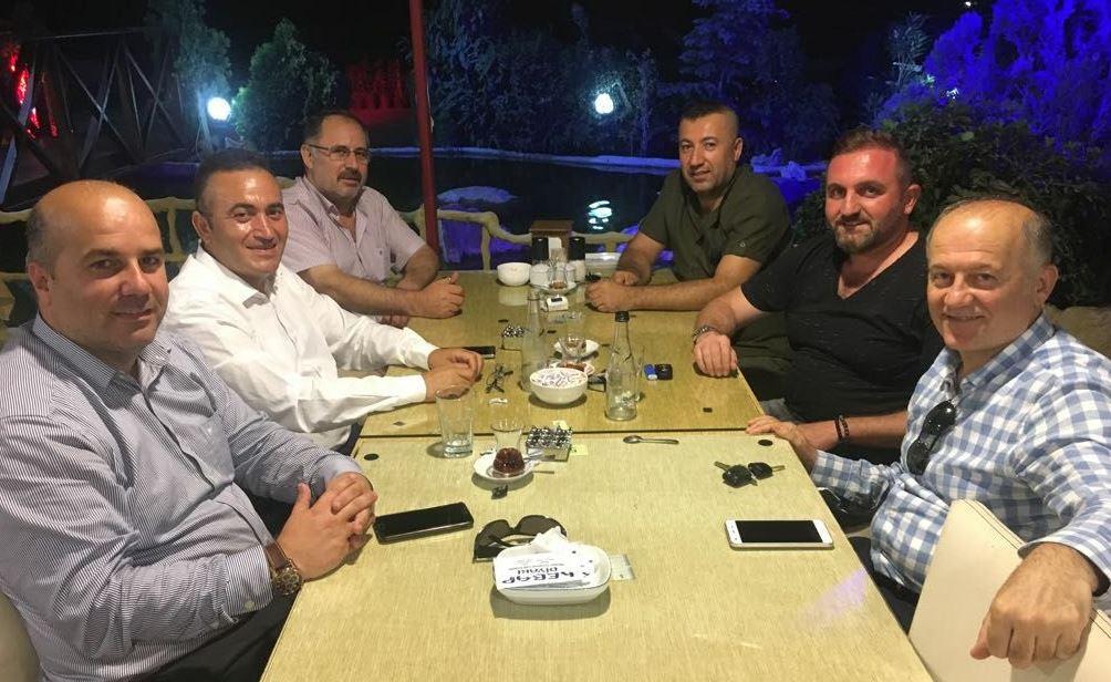 MHP Çayırova'da İlçe Başkanları Toplandı