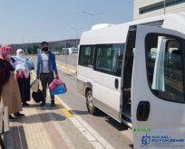 Vatandaşlar Evlerine Kadar Bırakılıyor