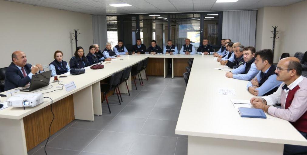 Çayırova Belediyesi'nden Zabıtaya Eğitim