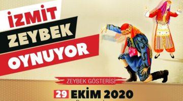Bin kişilik dev kadroyla 'Zeybek' gösterisi